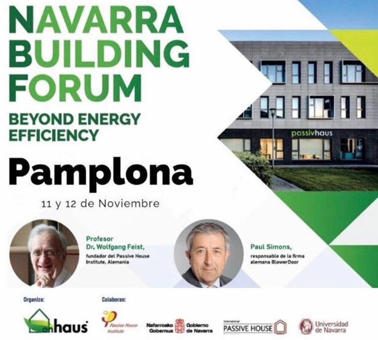 El Dr. Feist, en el Navarra Building Forum